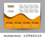 flyer  brochure  billboard... | Shutterstock .eps vector #1159642114