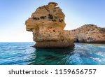 algarve seashore and caves.... | Shutterstock . vector #1159656757
