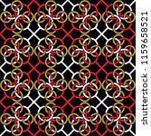 seamless pattern with a pattern ... | Shutterstock .eps vector #1159658521