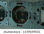 disassembled power socket.... | Shutterstock . vector #1159659031