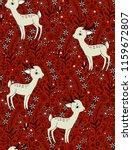 seamless vector floral pattern... | Shutterstock .eps vector #1159672807