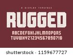 rugged vector heavy display... | Shutterstock .eps vector #1159677727