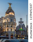 madrid  spain   january 23 ... | Shutterstock . vector #1159692337