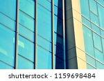 modern office building on a...   Shutterstock . vector #1159698484