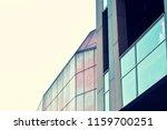modern office building on a...   Shutterstock . vector #1159700251