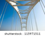 Abstract View Of Bridge Suppor...