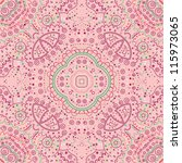 vector seamless colorful floral ...   Shutterstock .eps vector #115973065