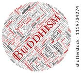 vector conceptual buddhism ... | Shutterstock .eps vector #1159734274