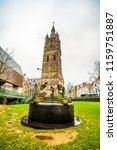 belfry of ghent and spring of... | Shutterstock . vector #1159751887