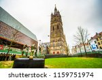 belfry of ghent and spring of... | Shutterstock . vector #1159751974