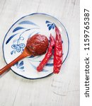 korean sources red pepper paste ... | Shutterstock . vector #1159765387