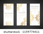 invitation templates. cover... | Shutterstock .eps vector #1159774411