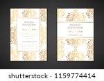 wedding invitation templates.... | Shutterstock .eps vector #1159774414