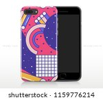 colorful abstract pattern on...   Shutterstock .eps vector #1159776214