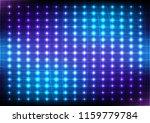 abstract dot blue light  vector ... | Shutterstock .eps vector #1159779784