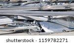 abstract of metal scrap for... | Shutterstock . vector #1159782271