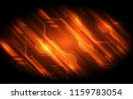 vector digital speed technology ... | Shutterstock .eps vector #1159783054