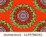 textile fashion african print... | Shutterstock .eps vector #1159788241