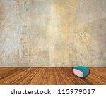 room interior with vintage... | Shutterstock . vector #115979017