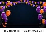 halloween carnival background ... | Shutterstock .eps vector #1159792624