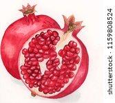 watercolour sketch of... | Shutterstock . vector #1159808524