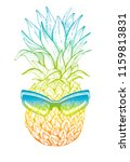vector illustration  hand drawn ... | Shutterstock .eps vector #1159813831
