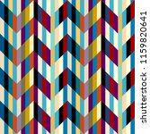 seamless geometric pattern.... | Shutterstock .eps vector #1159820641