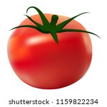 tomato abstracts for spanish... | Shutterstock .eps vector #1159822234