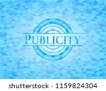 publicity realistic light blue... | Shutterstock .eps vector #1159824304