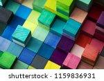 spectrum of stacked multi... | Shutterstock . vector #1159836931