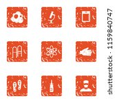 produce the disease icons set.... | Shutterstock .eps vector #1159840747