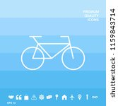 bicycle line icon | Shutterstock .eps vector #1159843714