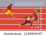 running men profile picture....   Shutterstock .eps vector #1159844437