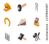 produce a metal icons set.... | Shutterstock .eps vector #1159844587