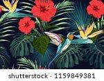 beautiful seamless vector... | Shutterstock .eps vector #1159849381