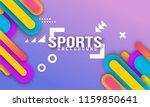 bright textured paper... | Shutterstock .eps vector #1159850641