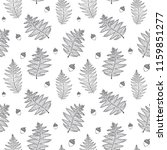 seamless forest pattern with... | Shutterstock .eps vector #1159851277