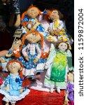 flea market   folk crafts....   Shutterstock . vector #1159872004