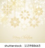 abstract christmas background... | Shutterstock .eps vector #115988665
