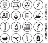 science vector icons set | Shutterstock .eps vector #1159887241