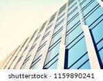 modern office building on a...   Shutterstock . vector #1159890241