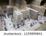 xian   jun 30 terracotta army... | Shutterstock . vector #1159890841