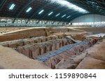 xian   jun 30 terracotta army... | Shutterstock . vector #1159890844