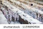 xian   jun 30 terracotta army... | Shutterstock . vector #1159890904