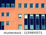 modern office building on a...   Shutterstock . vector #1159893571