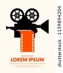 movie and film modern retro...   Shutterstock .eps vector #1159894204