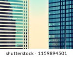 modern office building on a...   Shutterstock . vector #1159894501