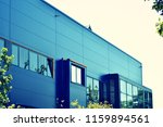 modern office building on a...   Shutterstock . vector #1159894561