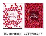 card templates diamond red...   Shutterstock .eps vector #1159906147