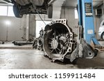 change and repair clutch  drive ... | Shutterstock . vector #1159911484